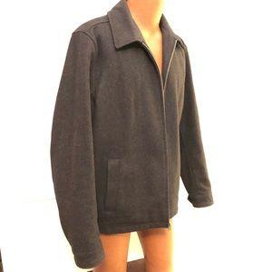 Tommy Hilfiger Pea Coat Zip Charcoal